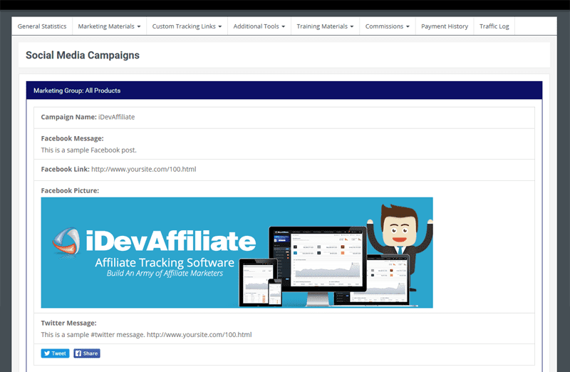 Dating affiliate software by idevaffiliate